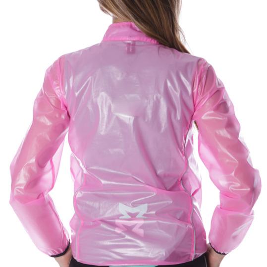 Chaqueta cortavientos rosa marca MÍTICAL para Mujer