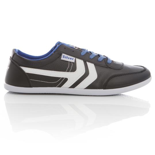 Zapatillas SILVER ENJOY Hombre en color negro blanco azul