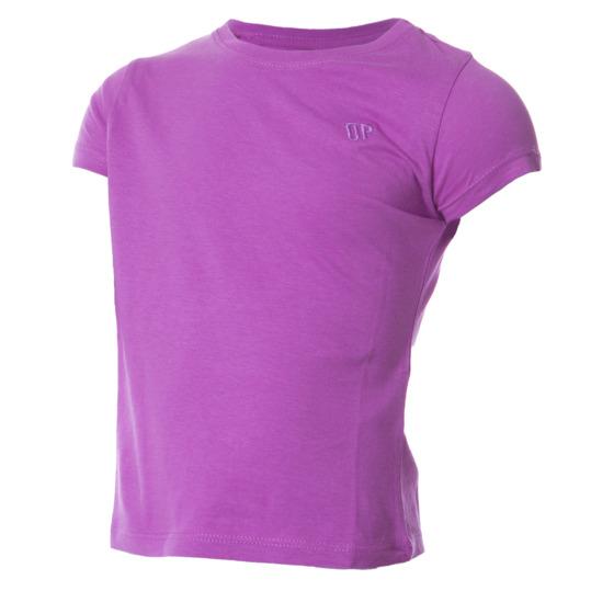 Camiseta malva niña manga corta UP (2-8)