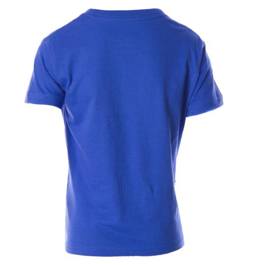 Camiseta azul manga corta UP niño (2-8)