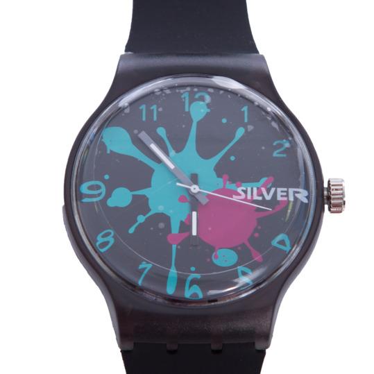 Reloj SILVER Negro