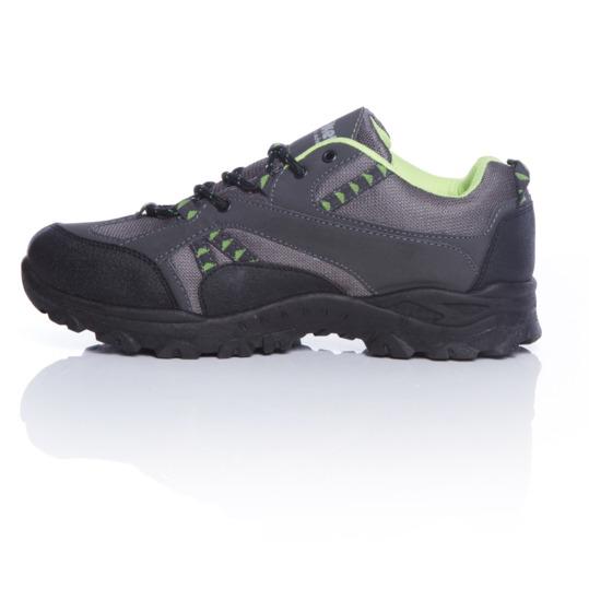 Zapatos antracita para montaña marca BORIKEN hombre