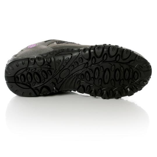 Zapatos Montaña TUBKAL BORIKEN Mujer Gris Lila