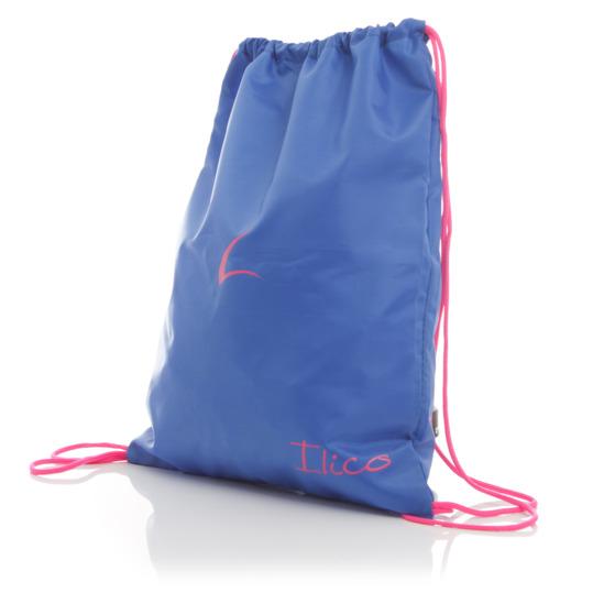 Gymsack marca Ilico para mujer en color Azul