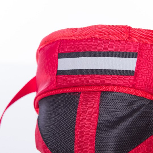 Mochila MACKAY MÍTICAL Rojo Negro