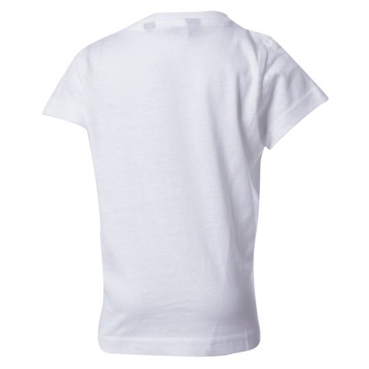 Camiseta UP Basic blanco niña (2-8)