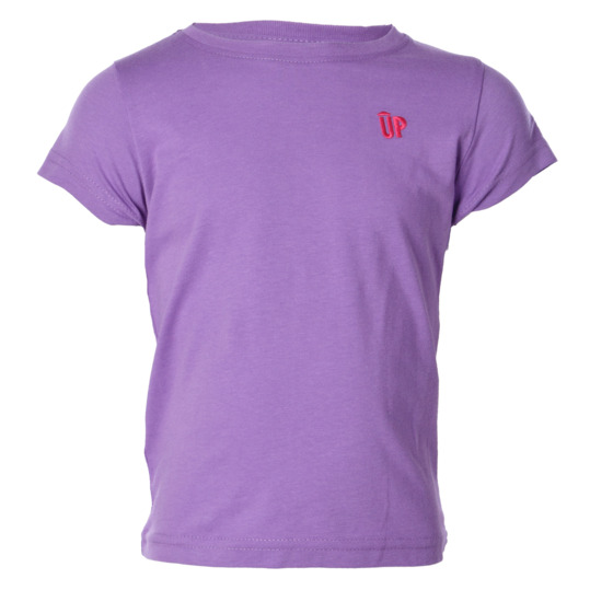 Camiseta UP Basic morado niña (2-8)