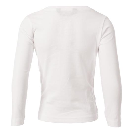 Camiseta de manga larga UP Basic blanco niña (2-8)