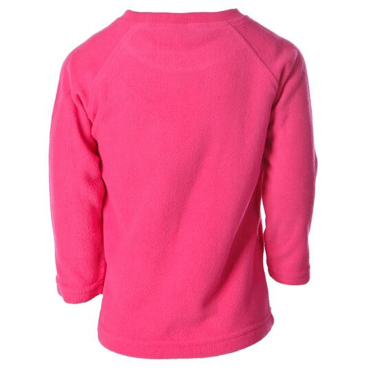 Sudadera polar UP Basic rosa fresa niña (2-8)