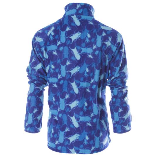 Polar estampado UP Basic azul royal niño (2-8)