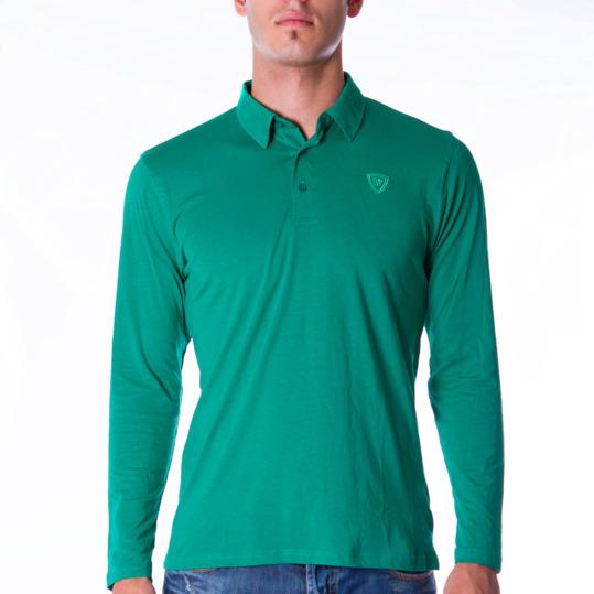 Polo UP Básicos verde hombre