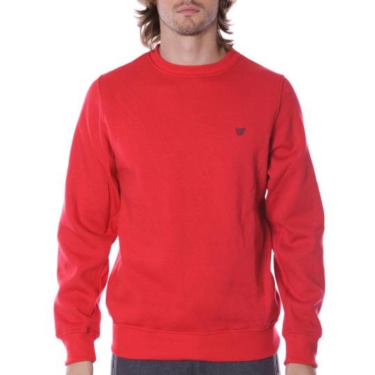 Sudadera hombre UP Básicos rojo