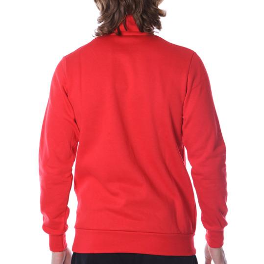 Sudadera hombre UP Básicos Zip rojo