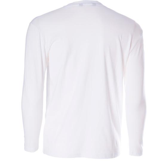 Camiseta manga larga niño UP Básicos blanco (10-16)