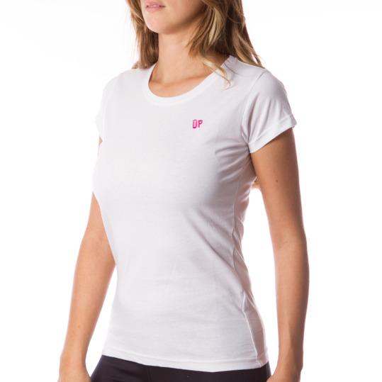 Camiseta UP Básicos blanco mujer