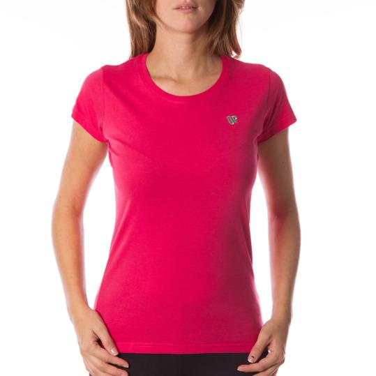 Camiseta UP Básicos coral mujer