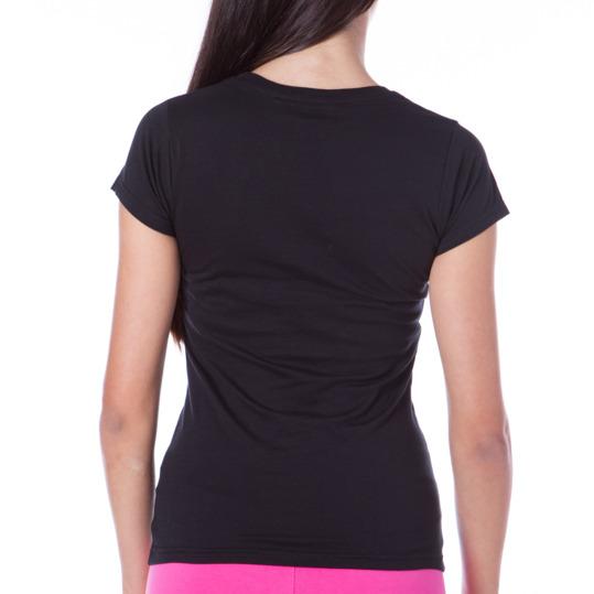 Camiseta UP Básicos negro mujer