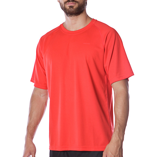 Camiseta manga corta tenis hombre Proton rojo