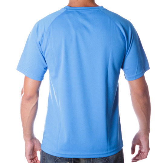 Camiseta Manga Corta PROTON Azul Hombre
