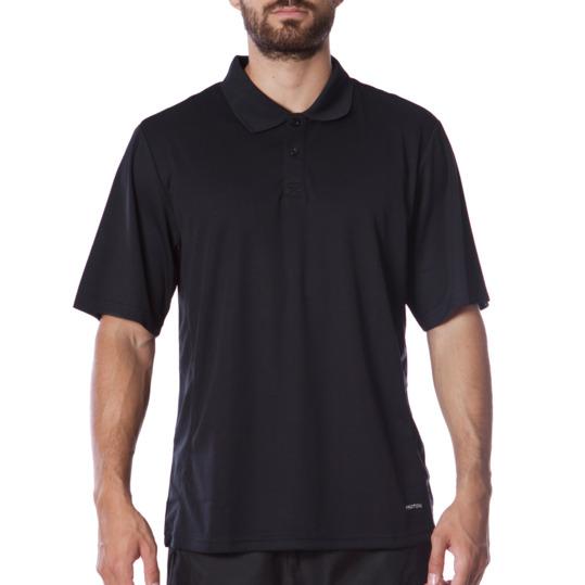 Polo manga corta tenis hombre Proton negro