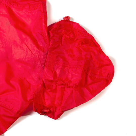 Chubasquero niño UP Básicos rojo (10-16)