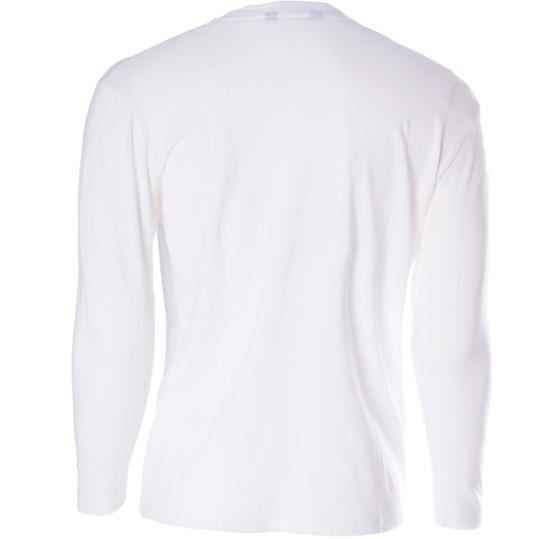 Camiseta de manga larga niña UP blanco (10-16)