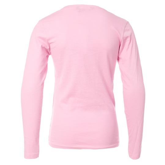 Camiseta de manga larga niña UP rosa (10-16)