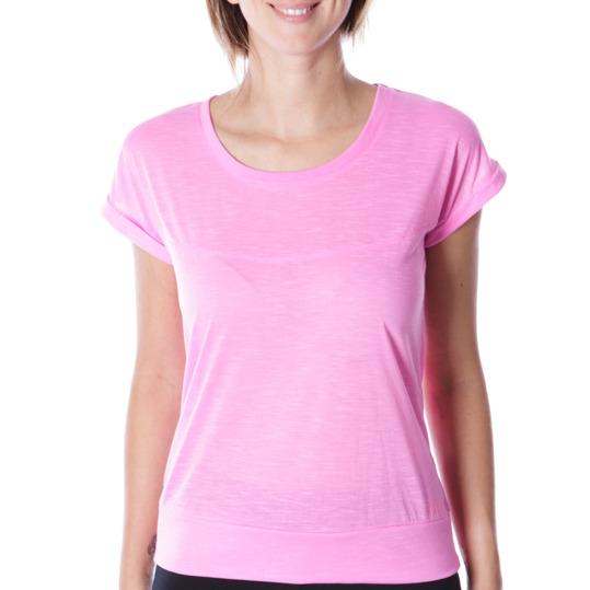 Camiseta manga corta mujer ILICO en rosa