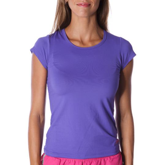 Camiseta manga corta mujer ILICO en azul tinta