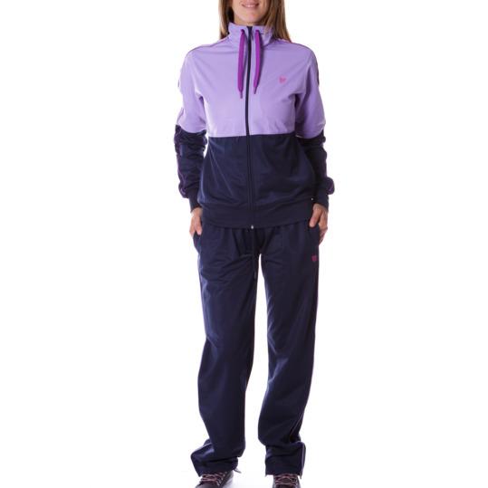 Chándal mujer UP violeta azul marino