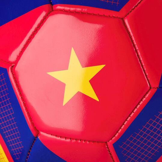 Balón Rojo-Amarillo Fútbol DAFOR ESPAÑA
