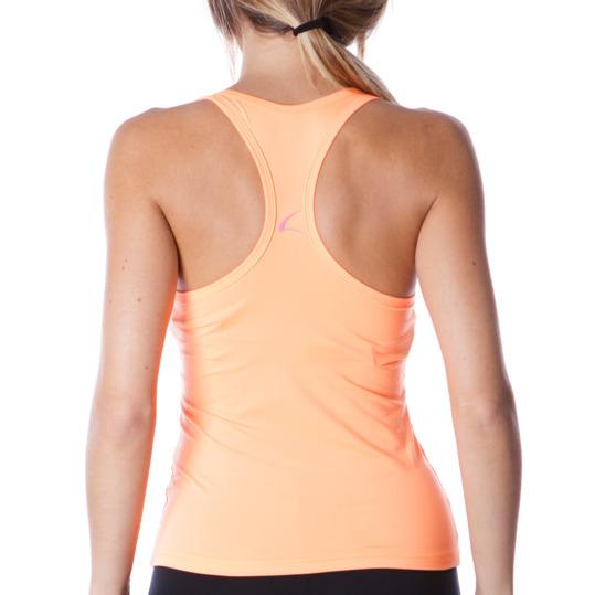 Camiseta ILICO Tirantes Aeróbic Mujer Naranja