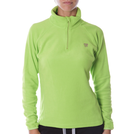 Polar mujer UP Básicos verde pistacho