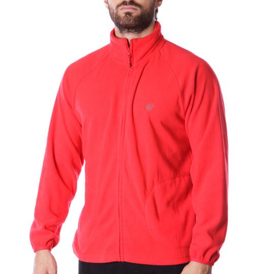 Polar abierto UP Básicos rojo hombre