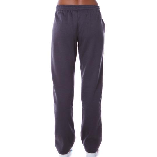 Pantalón felpa mujer UP Básicos gris oscuro