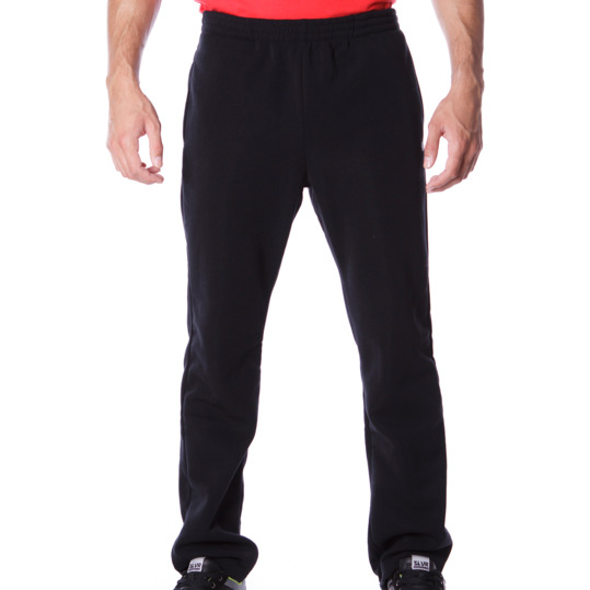 Pantalón largo felpa hombre UP Básicos negro
