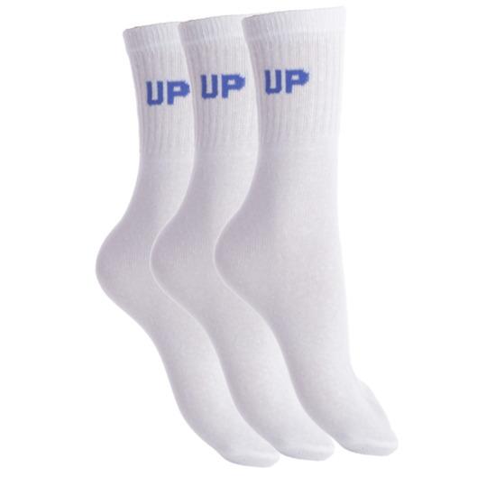 Calcetines UP para Hombre Pack 10 en Blanco-Negro-Gris