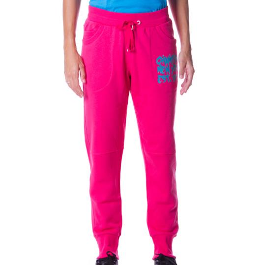 Pantalón Holgado CHAMPION Graphics Rosa Mujer