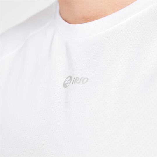 Camiseta Running IPSO BASIC Blanco Hombre