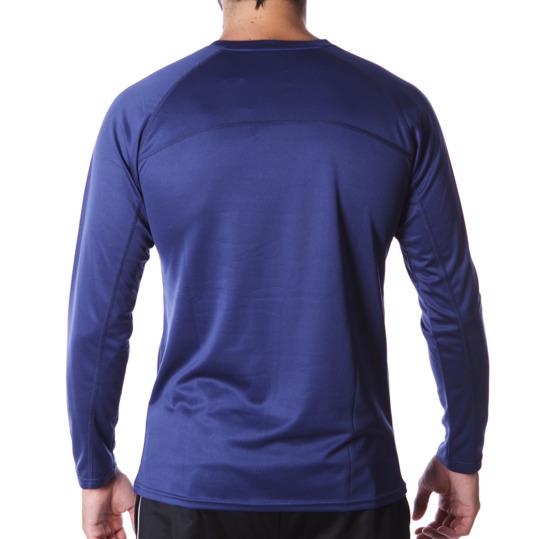 Camiseta IPSO manga larga de Running hombre en marino