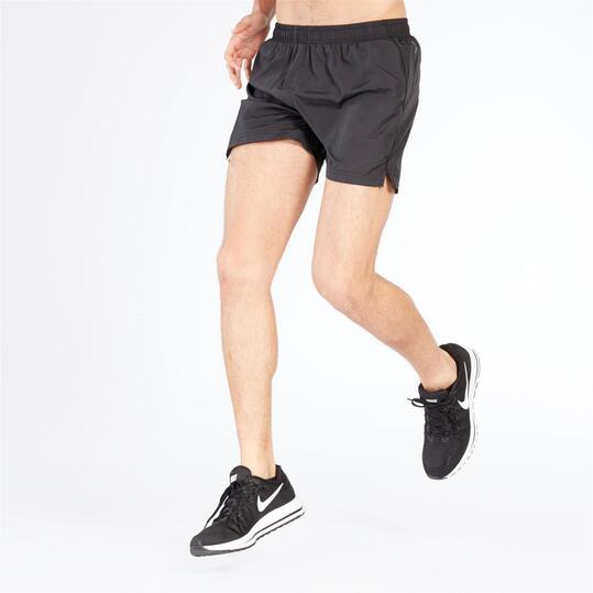 Short de running IPSO hombre negro