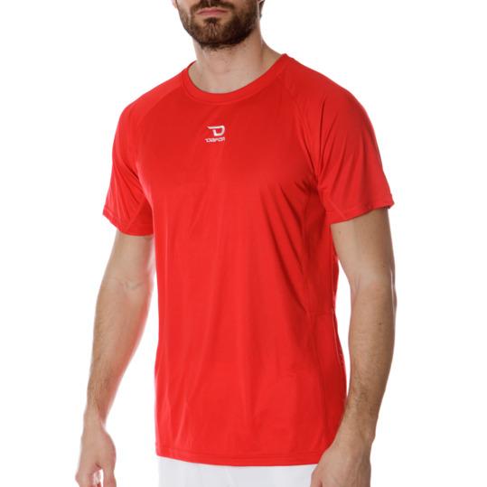 Camiseta manga corta de hombre DAFOR en rojo
