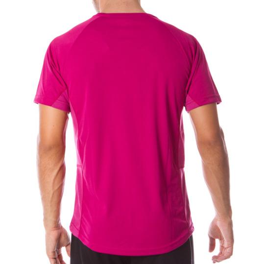 Camiseta manga corta de hombre DAFOR en fucsia