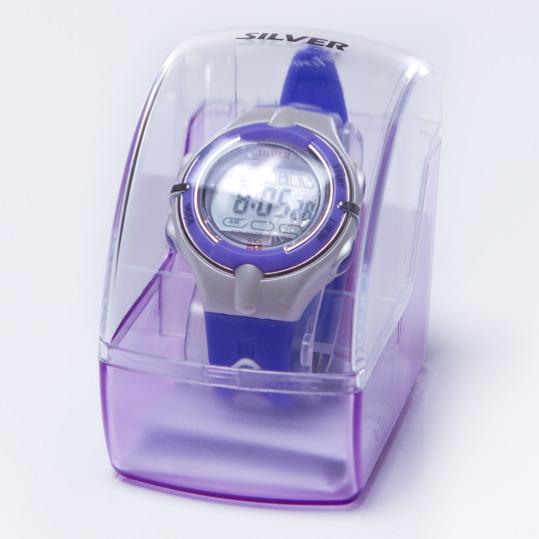 Reloj Moda Sport SILVER Morado Mujer