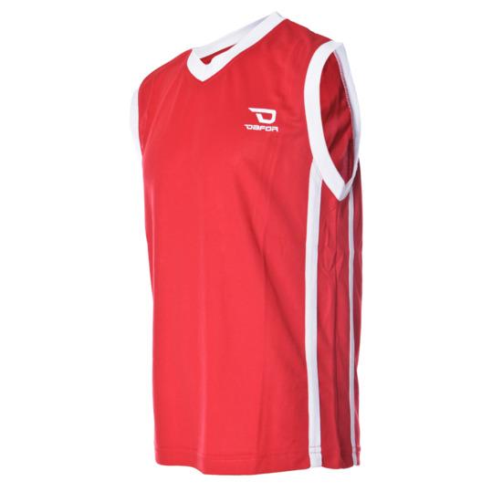 Camiseta sin mangas DAFOR Baloncesto niño en rojo (10-16)