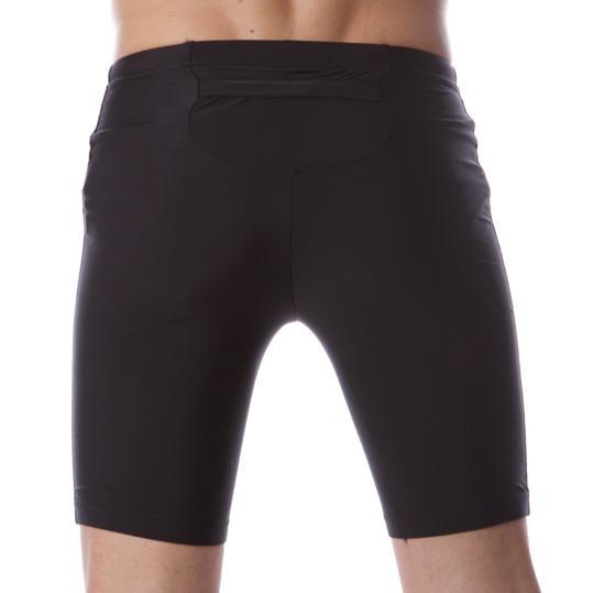 Mallas corta IPSO de running en negro Hombre