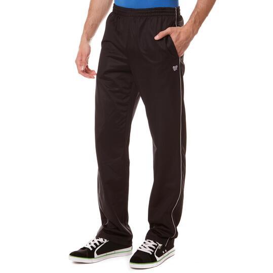 Pantalón largo acetato hombre UP Básicos negro