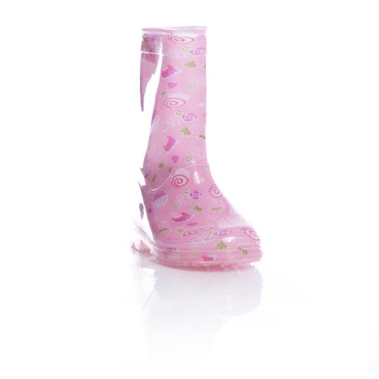 Botas de agua niña SILVER rosa (28-35)