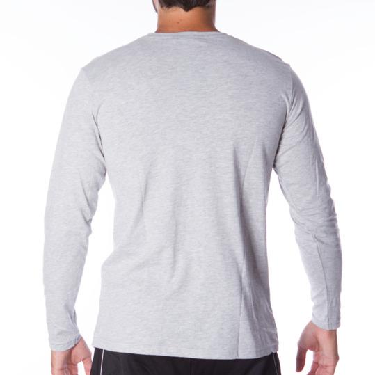 Camiseta de manga larga hombre UP Básicos gris