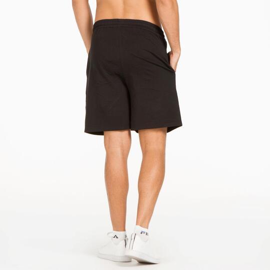 Pantalón corto hombre UP Básicos negro